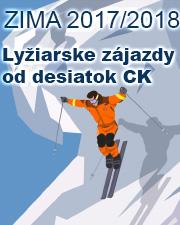 Lyziarske zajazdy 2017/2018 - najsirsia ponuka zajazdov